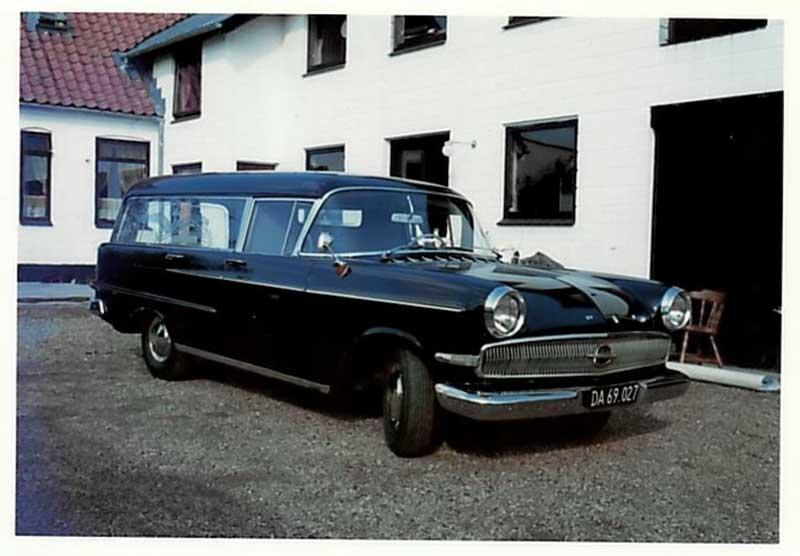 Vores første rustvogn Opel Kaptajn