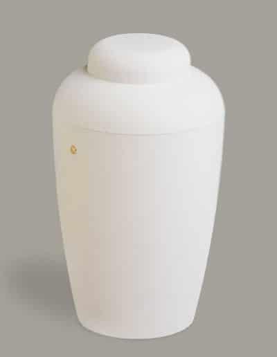 Soft 10 urne hvid