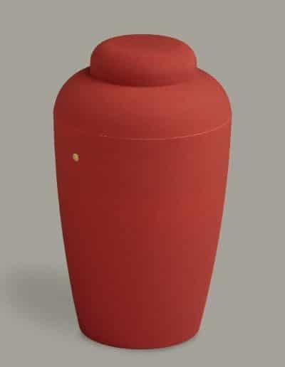 Soft 10 urne rød